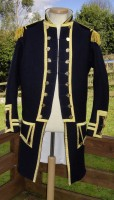 Napoleonic british captains uniform