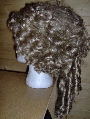 159 Georgian ladies wig. Pompadour. Free P&P to UK