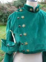 Regency reticule and spencer jacket